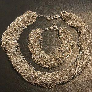 Traci Lynn Necklace and bracelet set